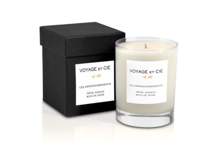 Voyage Et Cie 10ÈMe Canal St. Martin Geranium Rose Candle