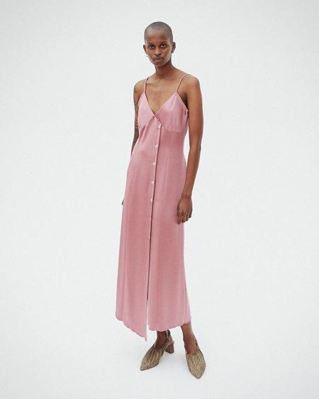 Nanushka ANCENS Satin slip dress - Rose