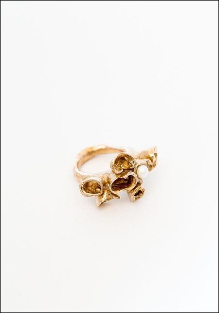 Miriam Nori Hidden Ring - Pearl Bronze