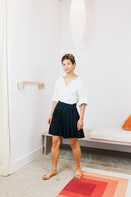 Miranda Bennett Rayon Harlow Short - Black