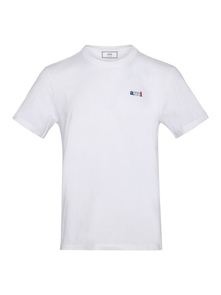 AMI Ami Embroidery T-Shirt - White