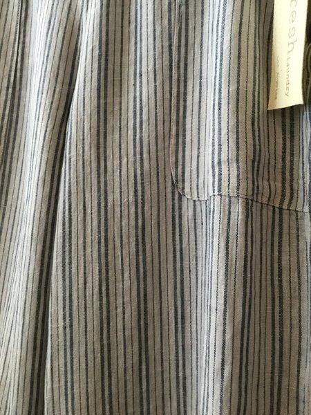 Fresh Laundry Linen Pants - Striped