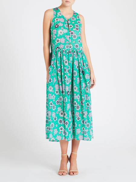 MiH Jeans Leia Dress - Floral Mint