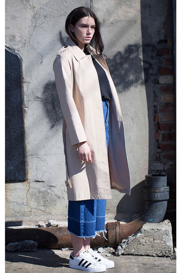 Lookast Cotton Trench Coat