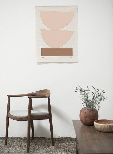 Upton Home Paloma Print - Rust / Yellow