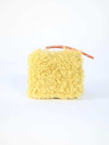 MM6 by Maison Margiela Short Wallet - Yellow