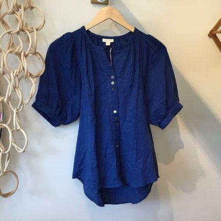 Les Petits Carreaux Filippine blouse - blue