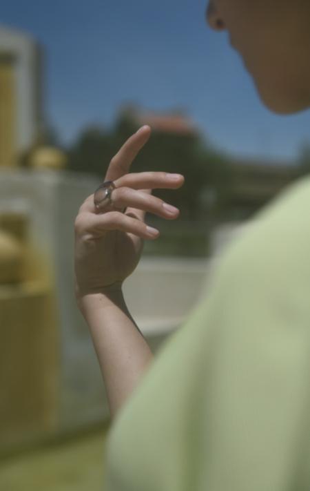 Kathleen Whitaker Smoky Quartz Ring
