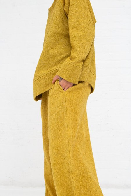 Marrakshi Life Boucle Palazzo Pants - Boucle Curry