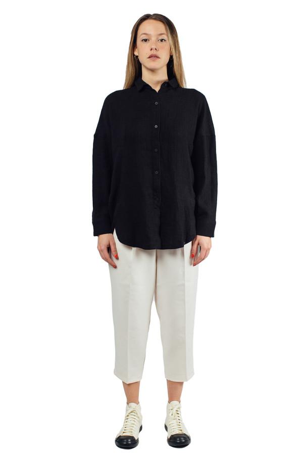 Priory Accona Shirt Black Mini Pane