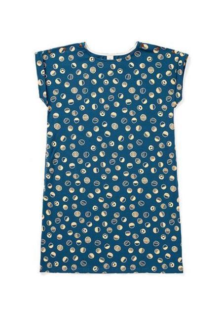 Atelier b. Jersey Straight Cut Dress - Navy Shapes