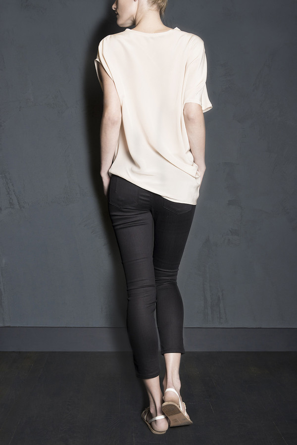 Asymmetric Sleeveless Blouse
