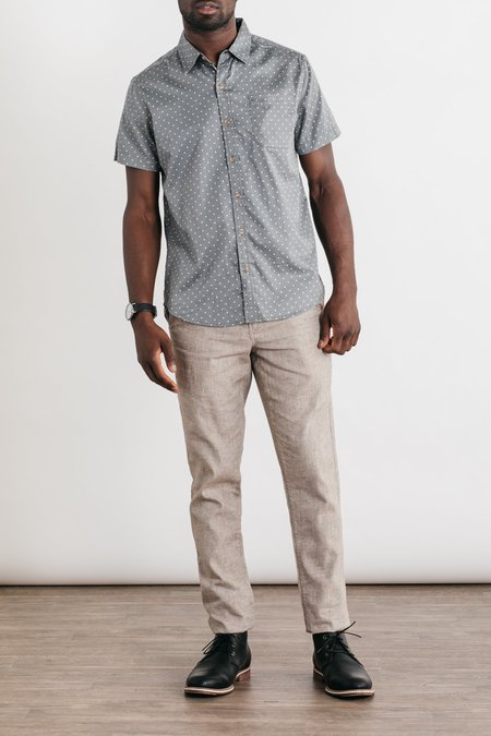 Bridge & Burn Jackson Button-Up - Grey Polkadot