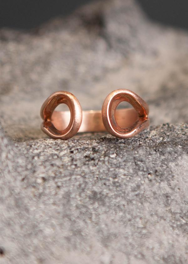 Love Rocks Open Ring