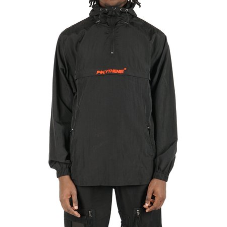 POLYTHENE* OPTICS NYLON WINDBREAKER - black