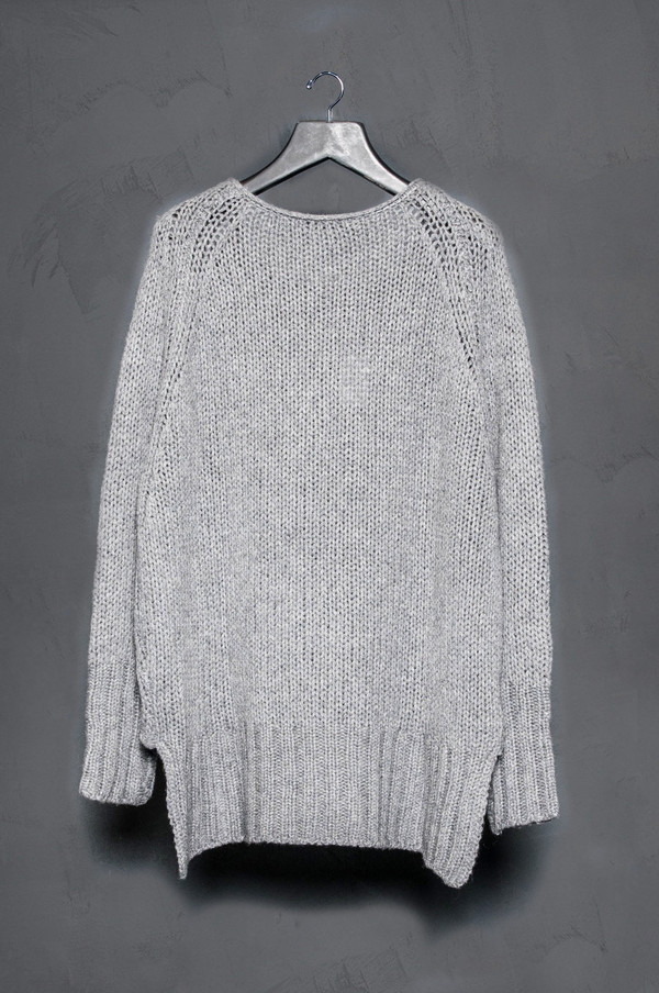 KES Rib Extension Sweater