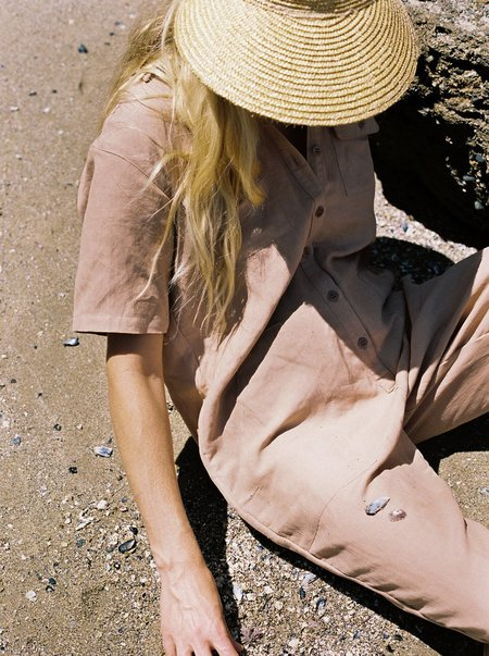 Ozma Painter's Jumpsuit - Desert