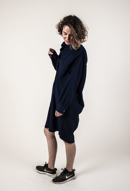 Facon Jacmin Delores Dress - MIDNIGHT BLUE