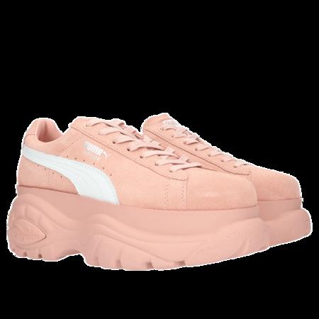 Puma Suede x Buffalo Boots Platform Sneakers - Pink