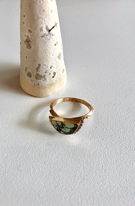 Young In The Mountains 14K Gold Selene Ring