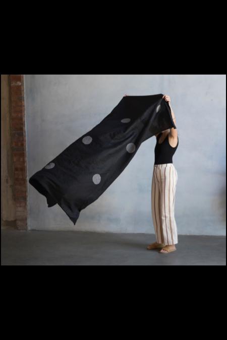 Kesslyr Dean Linen Throw IV - Block Print
