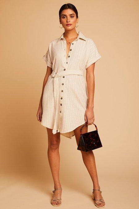 Saint Helena Odine Shirt Dress - Catton Stripe