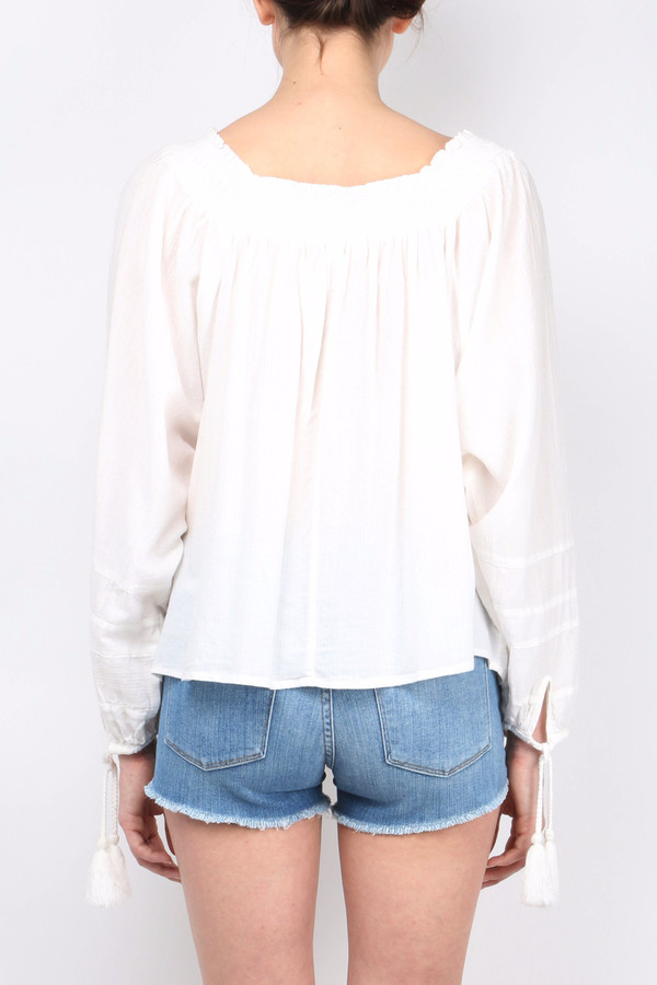 Apiece Apart Glorieta Square Neck Top