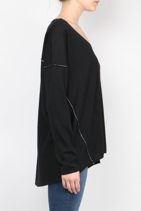 Paychi Guh Long Sleeve Boxy Tee Sweater
