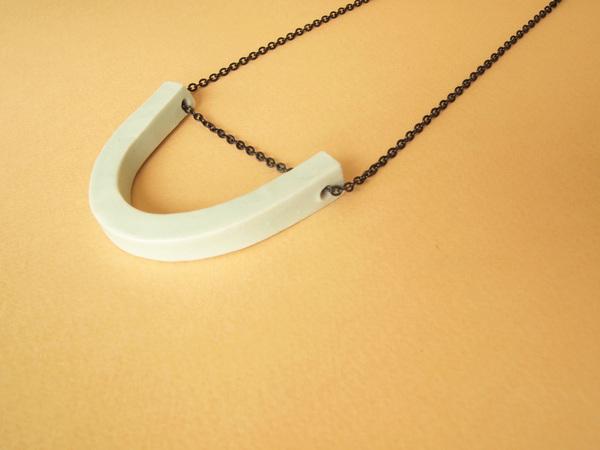 YYY U necklace