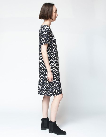Bishop Collective Box Dress - Chevron