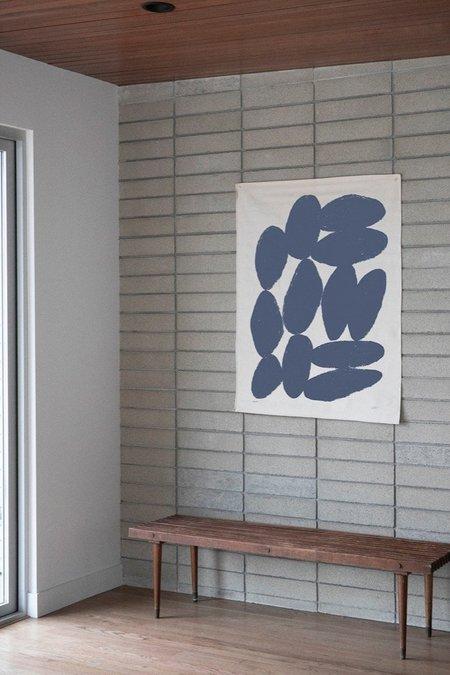 Upton Carnac Canvas Print - Navy