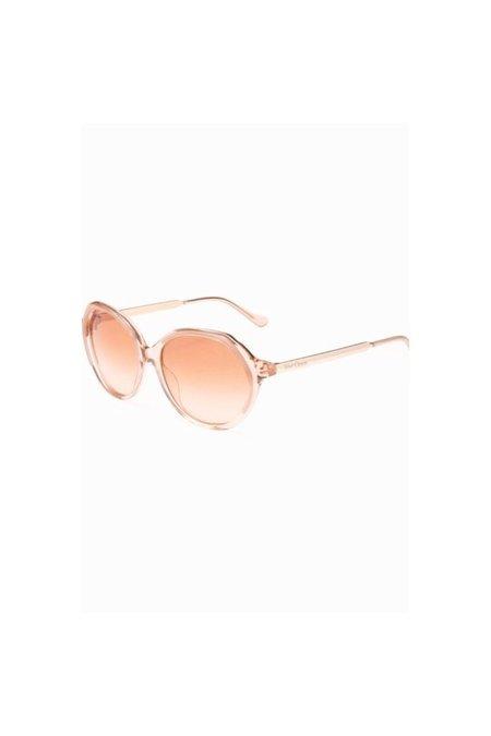 Velvet Canyon Heartbreaker Sunglasses - Peach