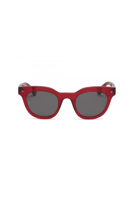 Wonderland Perris Sunglasses - Red Gel