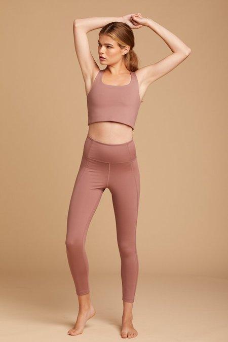 Girlfriend Collective Compressive High-Rise Legging - Rose Quartz