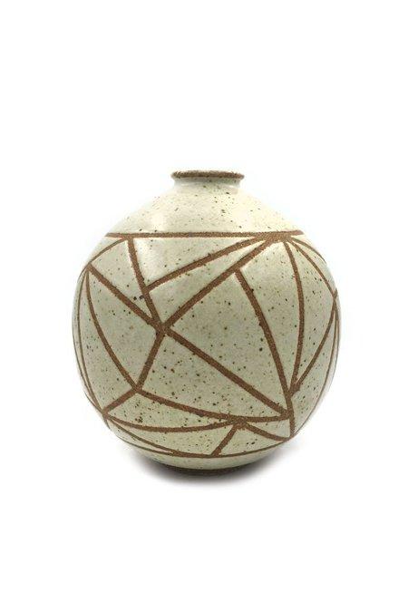 Foxware Designs Round Triangle Wrap Vase - natural