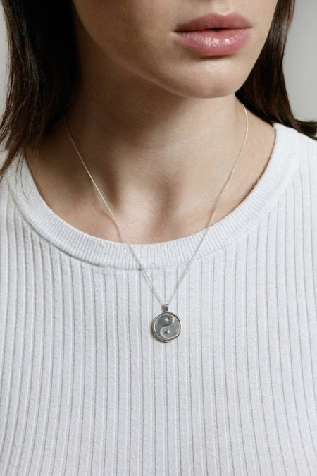 Wolf Circus Gravity Necklace - Silver