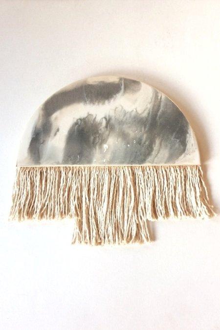 Laura Made It Half Moon Fringe Wall Hanging 3 - natural