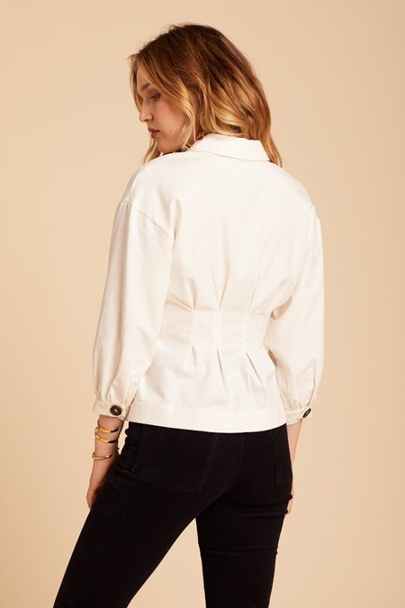 Free People Night Moves Top - Ivory