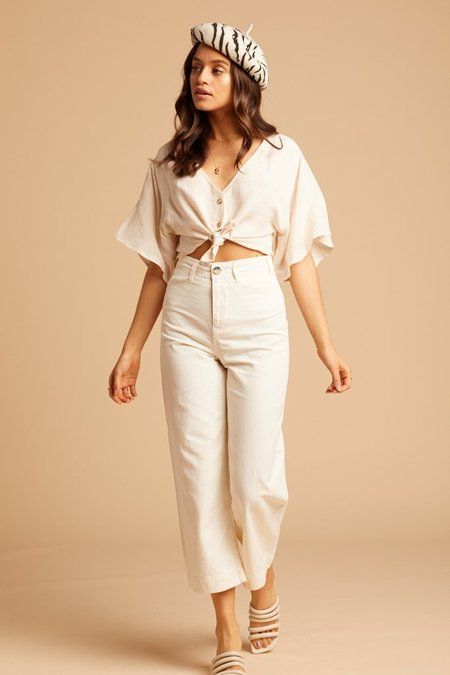 Free People Patti Pant - Ivory