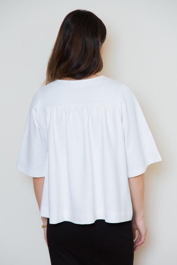 bytimo white s/s blouse
