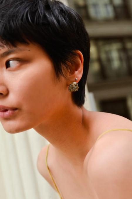 SVNR Paro Earrings - Pyrite