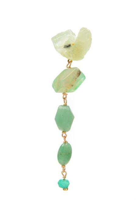 SVNR Bangalore Earrings - Agate/Adventurine/Quartz