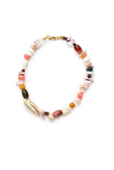 SVNR Oaxaca Necklace - Multi/Shell