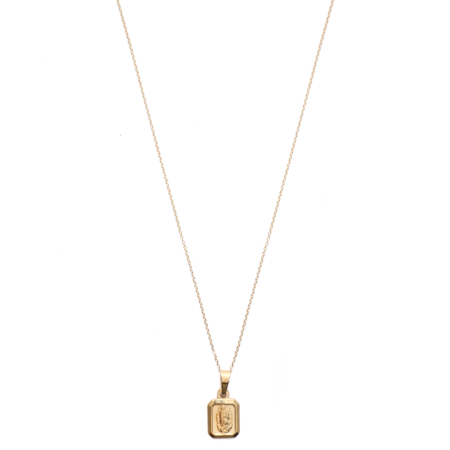 Mod + Jo Keepsake Pendant Necklace - Gold