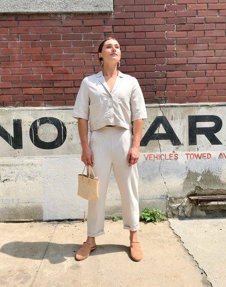 Eve Gravel Rosemary Shirt - Clay