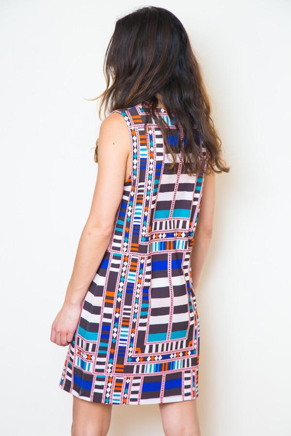 mara hoffman bandeau shift dress