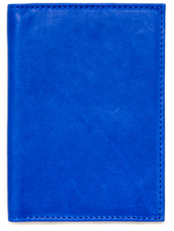 Clare Vivier Cobalt Passport Case