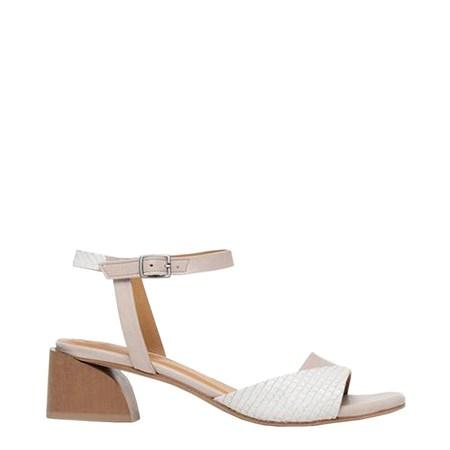 Coclico Orrison Sandal - Rock Perla Scale White