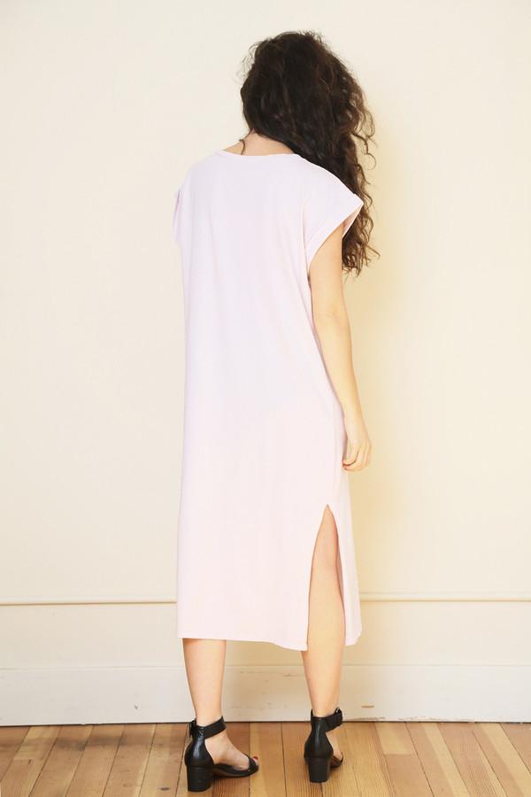 Nytt Cap Sleeve Midi Dress
