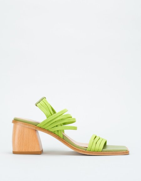 Paloma Wool Lunes Sandal - Medium Green